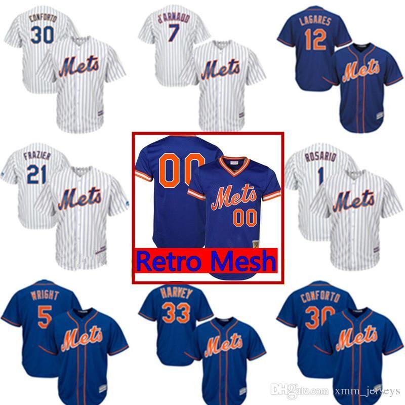check out a2085 fdeb0 New York Mets Custom Jersey 30 Michael Conforto 8 Gary Carter 41 Tom Seaver  17 Keith Hernandez 12 Juan Lagares 7 Curtis Granderson Jerseys UK 2019 ...