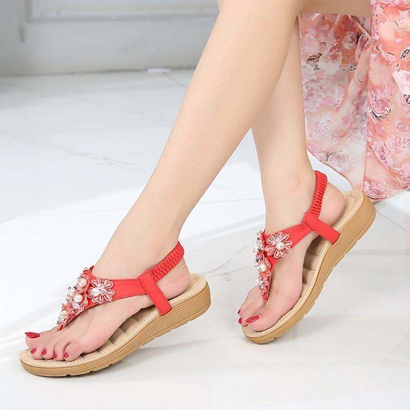 SAGACE Women Casual Sandals Bohemia