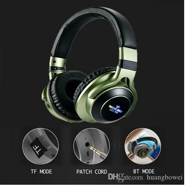 Led Light Wireless Bluetooth Headphones 3d Stereo Earphone With Mic Headset Support Tf Card Fm Mode Audio Jack Best Gaming Headphones Best Headphone From Huangbowei 18 43 Dhgate Com