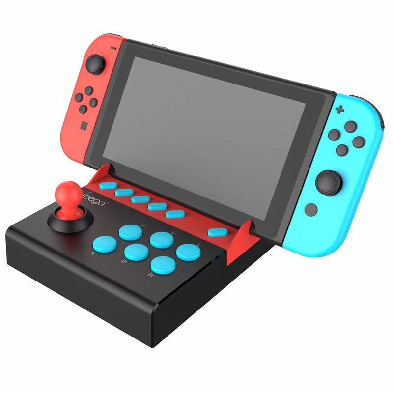 2019 iPega PG-9136 조이패드 Nintend에 대한 플러그 라이트 닌텐도 스위치 게임 콘솔에 대한 단일 로커 제어 Joysitck 게임 패드 플레이