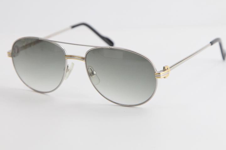 Металлические Классические Простые Солнцезащитные очки Рама Металлические Металлические Рамки Пилоты Пульты Досуг Вырезать Солнцезащитные Очки Качество Топ Золото Продажа Модных Солнцезащитные Очки KQQAK