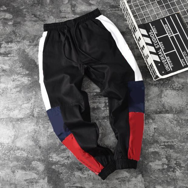 Mens Pants Men Sweatpant Womens Novas calças pretas e Khaki Hot Vender Casal Casual Pant Ativo Carta Jogger Imprimir Roupa Ss 2020