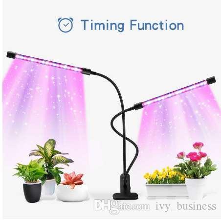 Lámpara de cuello de cisne con memoria ajustable Planta para el hogar Luz de cultivo Luz de cultivo de flor LED para el hogar Jardín Accesorios de granja