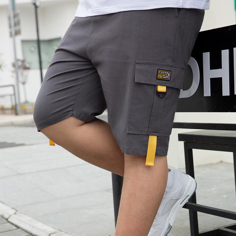 Plus Size 28-50 Inch homens de shorts da carga Novos 2020 Verão Casual Bigger bolso Clássico 95% algodão Marca Masculino calças curtas Trouers