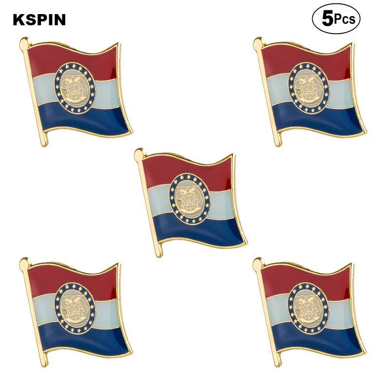 E.U.A. Missouri Brooches Épinglette insigne drapeau Broche Pins Badges d'un Lot