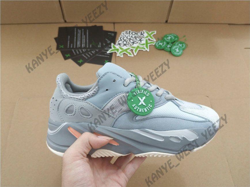 700 V2 кроссовки 2020 новый Kanye West Vanta статический светоотражающий сиреневый волна мужские женские спортивные 700s спортивные кроссовки дизайнер