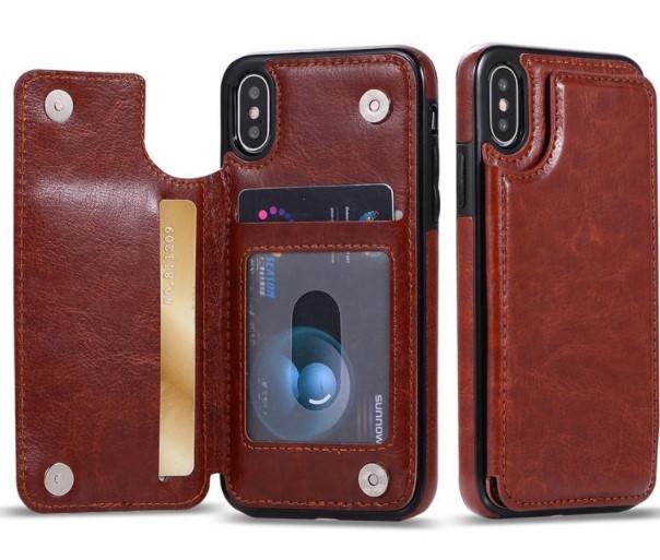 Wholesales для iPhone 11 Pro Xs Max ХГ бумажник чехол Роскошный кожаный PU телефон задняя крышка чехол с картой слот для случаев iphone
