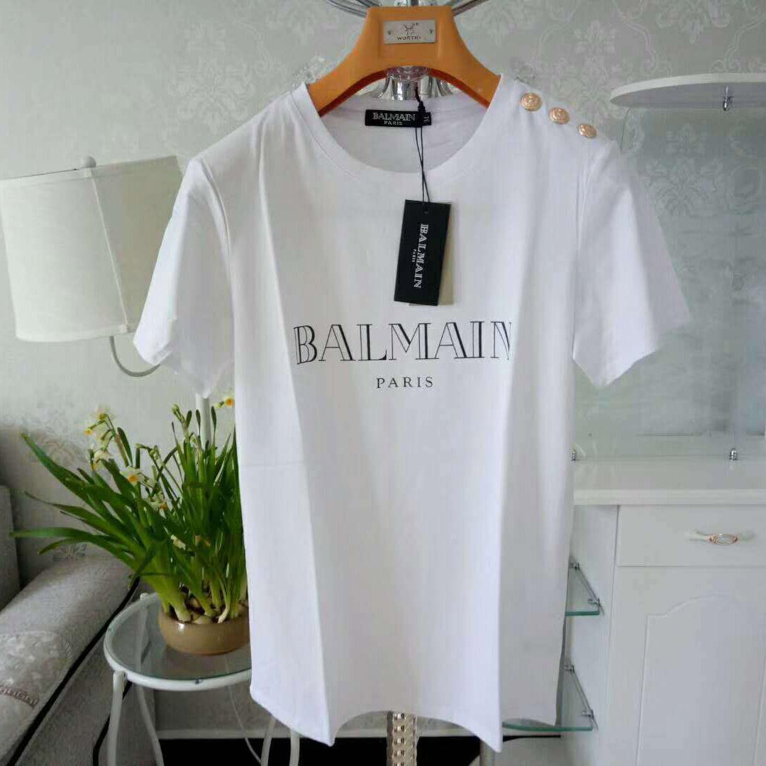 2020 del diseñador del Mens camiseta para mujer camisas de lujo de verano Marca primer golpe Pareja de alta calidad de la marca de los hombres camisas Ropa de diseño XS-2XL