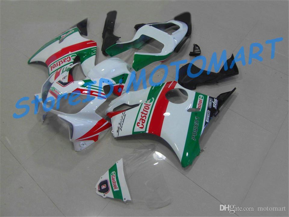 Kit de carenado del molde de inyección para HONDA CBR600F4I 01 02 03 CBR600 F4I 2001 2002 2003 CBR 600 F4I Carenados conjunto HF4I06