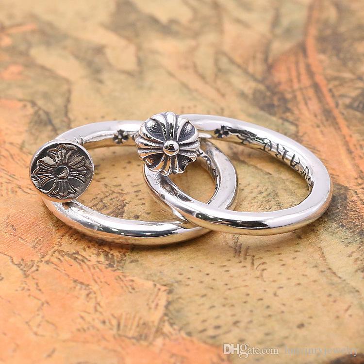 Marque nouvelle 925 bijoux en argent sterling vintage antique argent américain fait main designer réglable bagues réglables pour hommes femmes beau cadeau