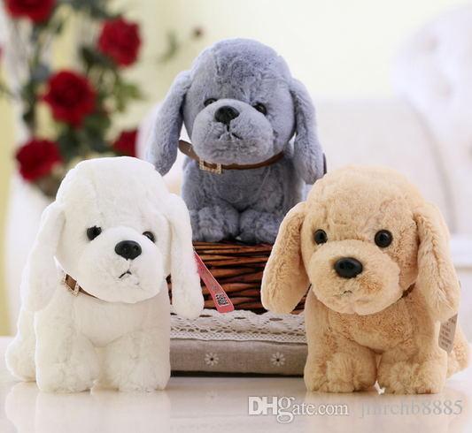 LNL Köpek 15 cm Dolması Teddy Yumuşak Oyuncak Çocuk