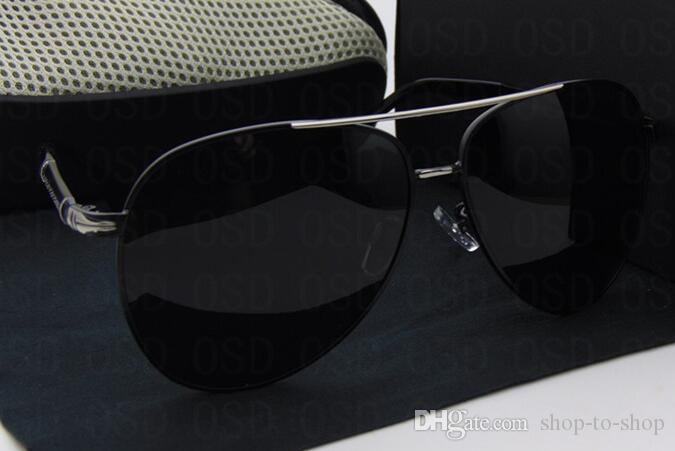 2016 nouvelle marque de haute qualité designer lunettes de soleil lunettes mode hommes hommes conduite lunettes avec emballage