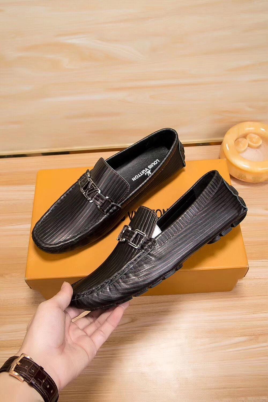 Flache Schuhe Faule Loafers Sommerloch Weiche Shallow atmungsaktiv Leder