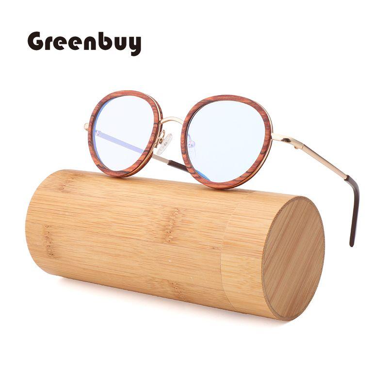 Miglior vendere naturali bambù ecocompatibili occhiali da sole e modelli da donna retro occhiali da sole possono essere scritte LOGO