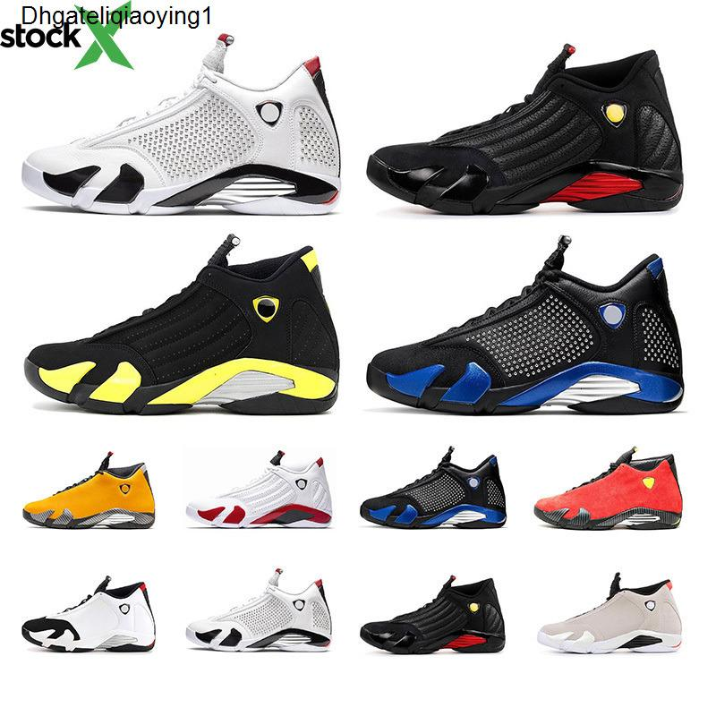 Jumpman 14s Mens Basketball Shoes Original Varsity Royal Red thuder Sports Trainer Black Toe Athletic Sneaker Chaussures size 8-13