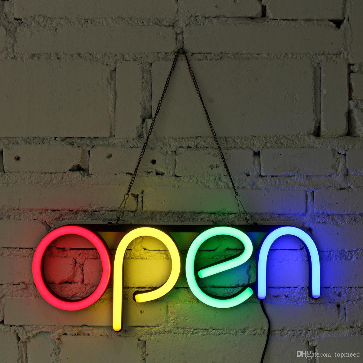 16 '' Açık Neon Burcu LED Işık Tüp El Yapımı Görsel Yapıt Bar Kulübü KTV Duvar Dekorasyon Ticari Aydınlatma Renkli Neon Ampuller