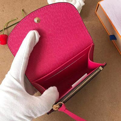 Designer-Designer-Kartenhalter kurze Brieftasche Art und Weise hochwertige original box Geldbörse Frauen Designer Brieftasche klassische Visitenkartenhalter