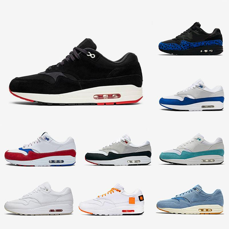 Cheap What the 1 Tartan Atmos Work Blue 1s Men women Running Shoes 87s Trainers OG Anniversary Parra Animal Pack Leopard Sports Sneakers