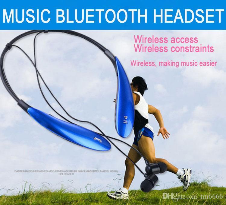 HBS800 Bluetooth наушники Беспроводные наушники Спортивные Bluetooth 3.0 гарнитура громкой связи в наушники-вкладыши для Samsung S8 Примечание 8 Любой телефон