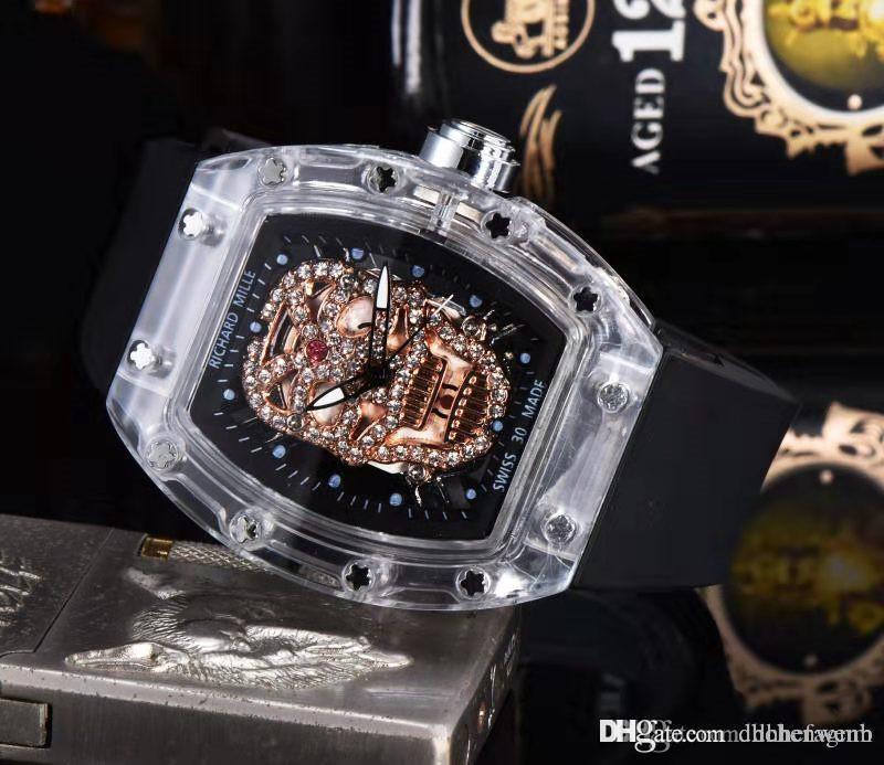High Quality Toprichard 3amens Swiss Brand Wristwatch Men Luxury Ghost Transparent Shell Quality Master Men Watch Hommes Orologio Best Deals On Watches Best Deal On Watches From Dhchenwenb 24 86 Dhgate Com