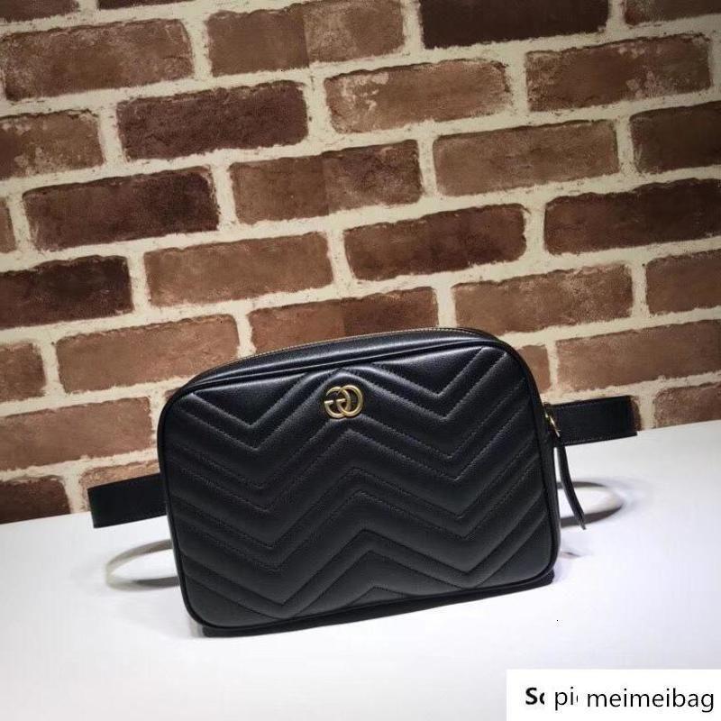 Brang Designer Top Quality Design Lettre boucle en métal coeur en forme de V Taille Femme en cuir de vachette Sac à main 523380 poitrine