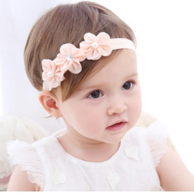 cabeça bebê coreano acessórios de cabelo do bebê meninas flores recém-nascidos headbands acessórios DIY jóias Crianças fotografado fotos