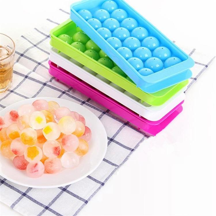 20 شعرية مستديرة الجليد جعل مربع الرئيسية النفس بها البلاستيك قالب الثلج الجليد الإبداعي شعرية مطبخ تزود T9I00310