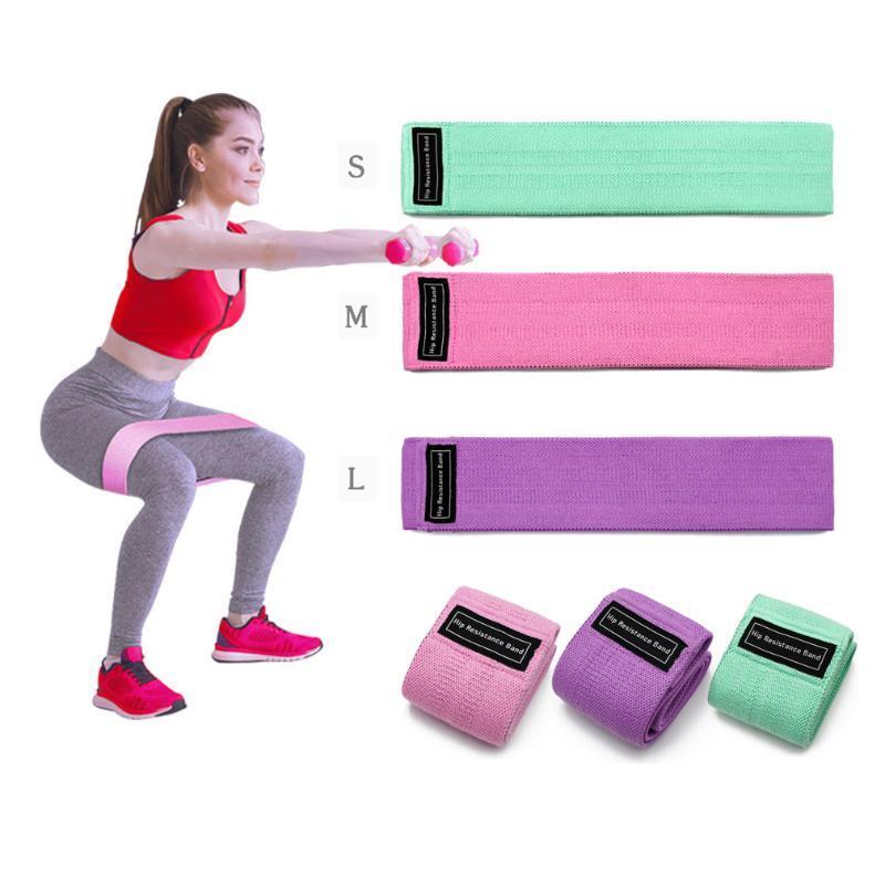 Центр Hip Сопротивление Группы Фитнес-оборудование Обучение Осуществления Йога Ноги Бедра Arm для Разминка Приседания Peach ягодичных тренировки полосы