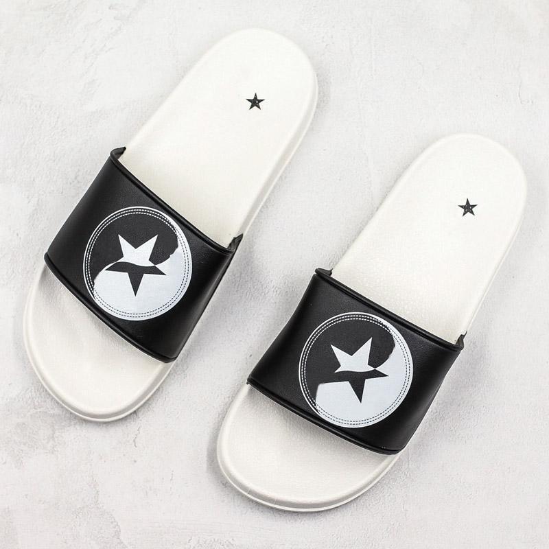 2020 패션 샌들 데이지 비치 샌들 편지 슬리퍼 인쇄 디자이너 슬리퍼 블랙 화이트 여름 플립 캐주얼 신발에게 CHAUSSURES 36-45 퍼