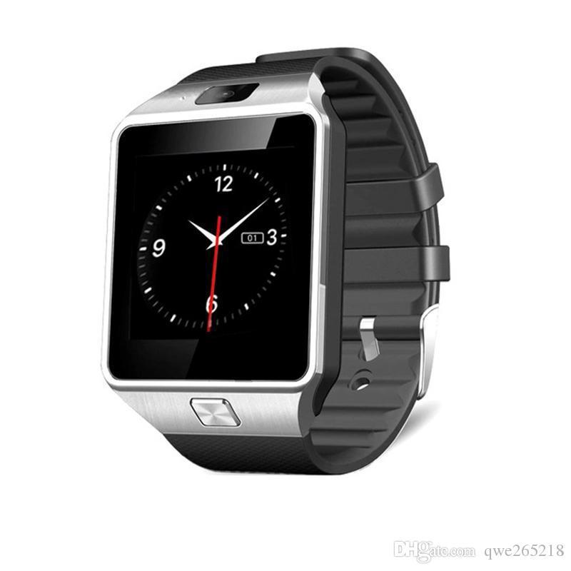 DZ09 똑똑한 시계 손목 밴드 안드로이드 시계 스마트 지능형 휴대 전화 수면 소매 상자 GT08 U8 A1 Top