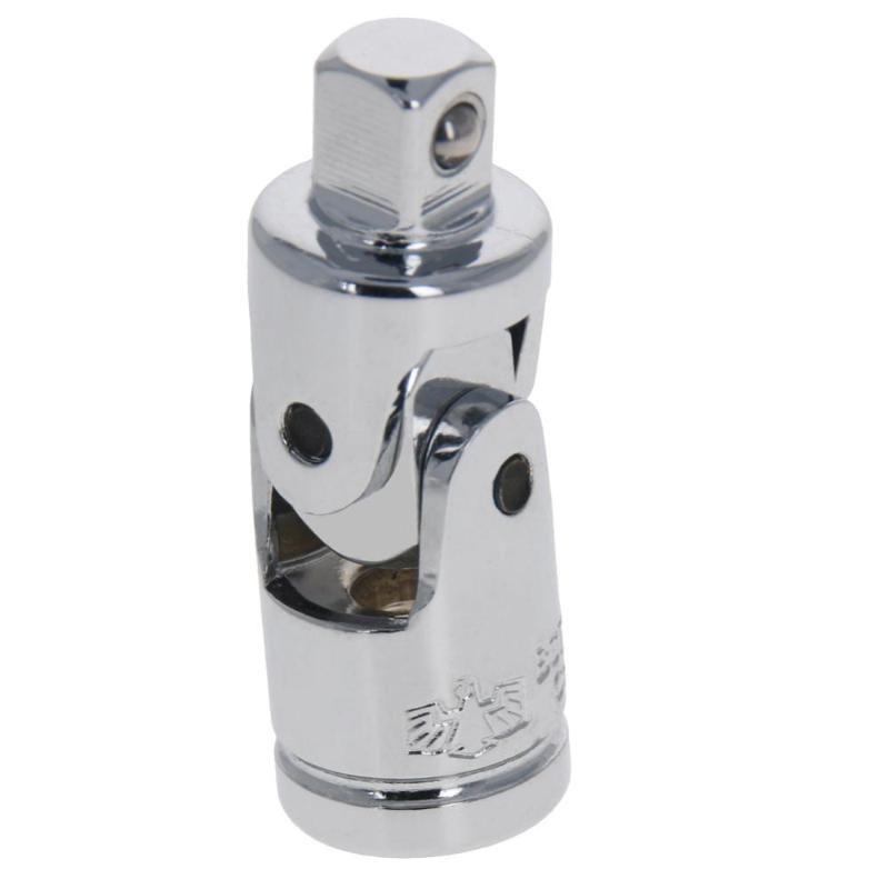 """Utoolmart 1pc / 2pcs Steering manica Joint 1/4"""" 3/8"""" 1/2"""" piano di riflessione / Mist laterale cromo lucido acciaio esagono di conversione"""