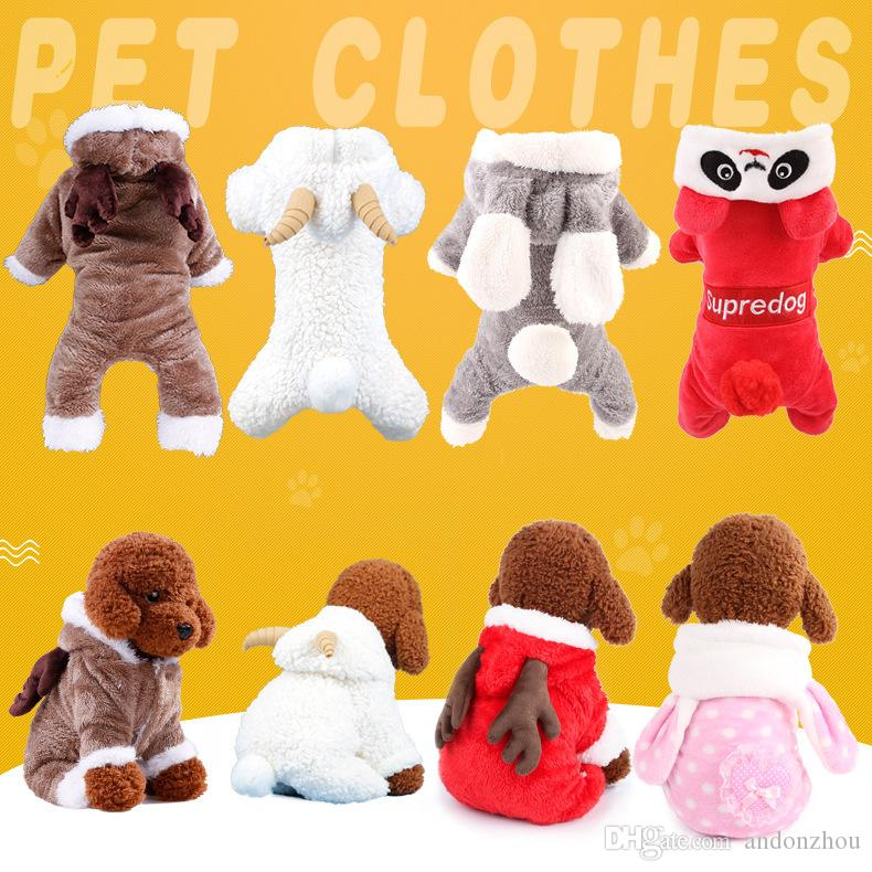 The Cutest Pet Clothes Winter Clothes for Lovely Dogs Best Quality Warmest Pet Wearing Clothes Free Shipping by DHL