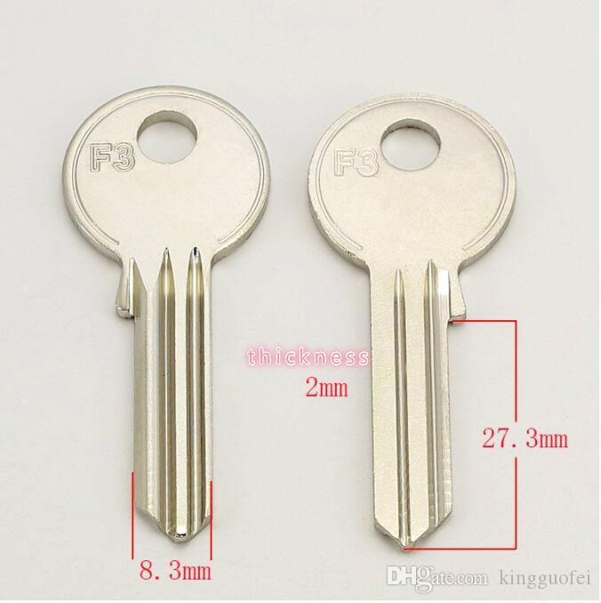 A037, Дом Дверные заготовки Ключей Слесарь Поставки Пустых Ключей 25 шт. / Лот