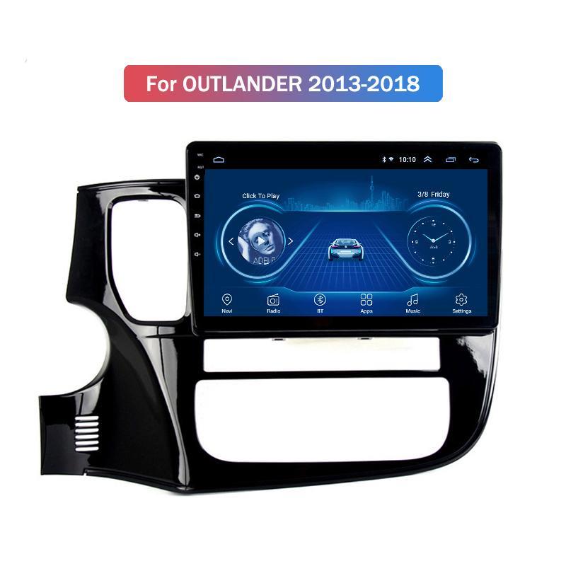 10.1 inch Android 10 car dvd gps navigation for mitsubishi OUTLANDER 2013-2018 multimedia radio system