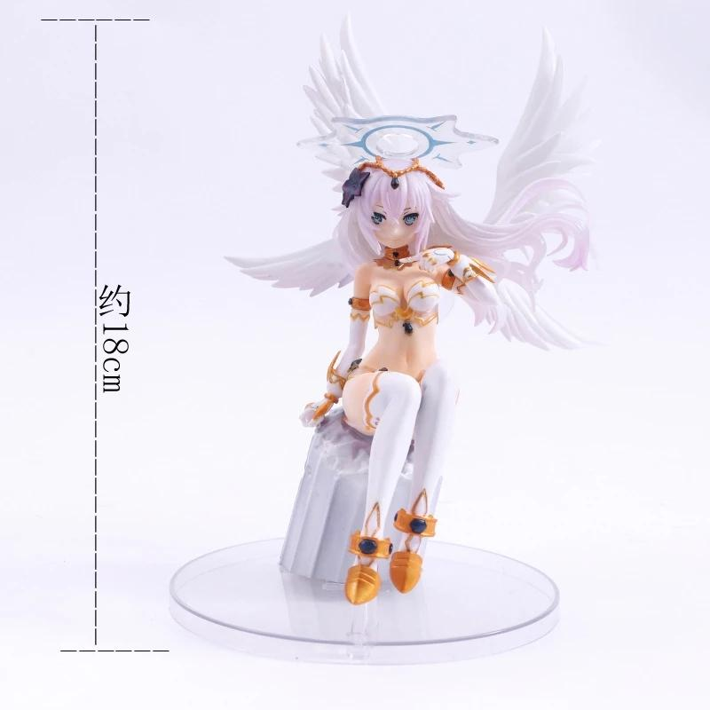 New Collectibles Anime Choujigen Game Neptune Black Heart PVC Figure IN BOX