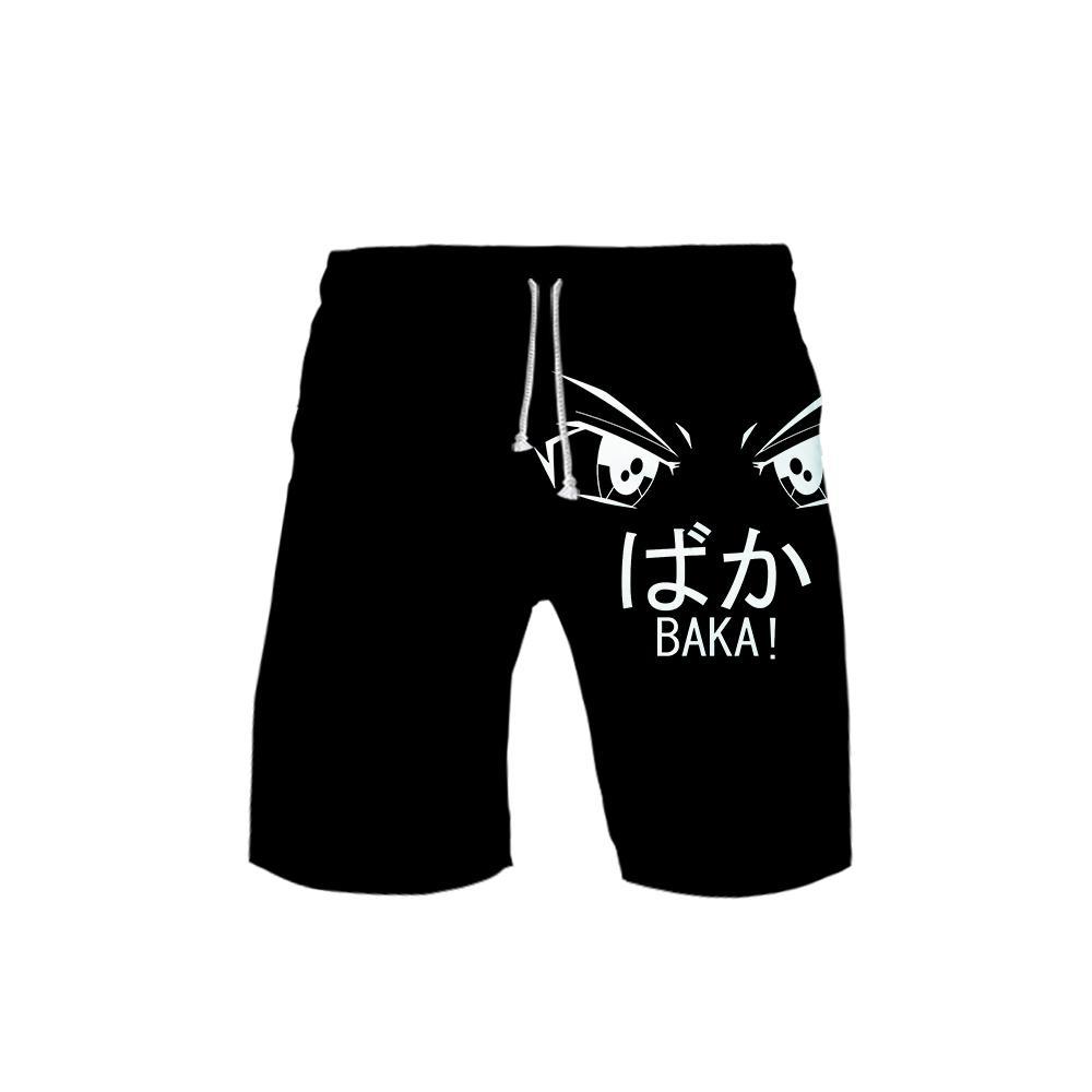 WAMNI BAKA Nova Unisex Praia tapa Coelho engraçado Harajuku Moda Hip-Hop Tendência Impressão Casual Shorts respirável T200430