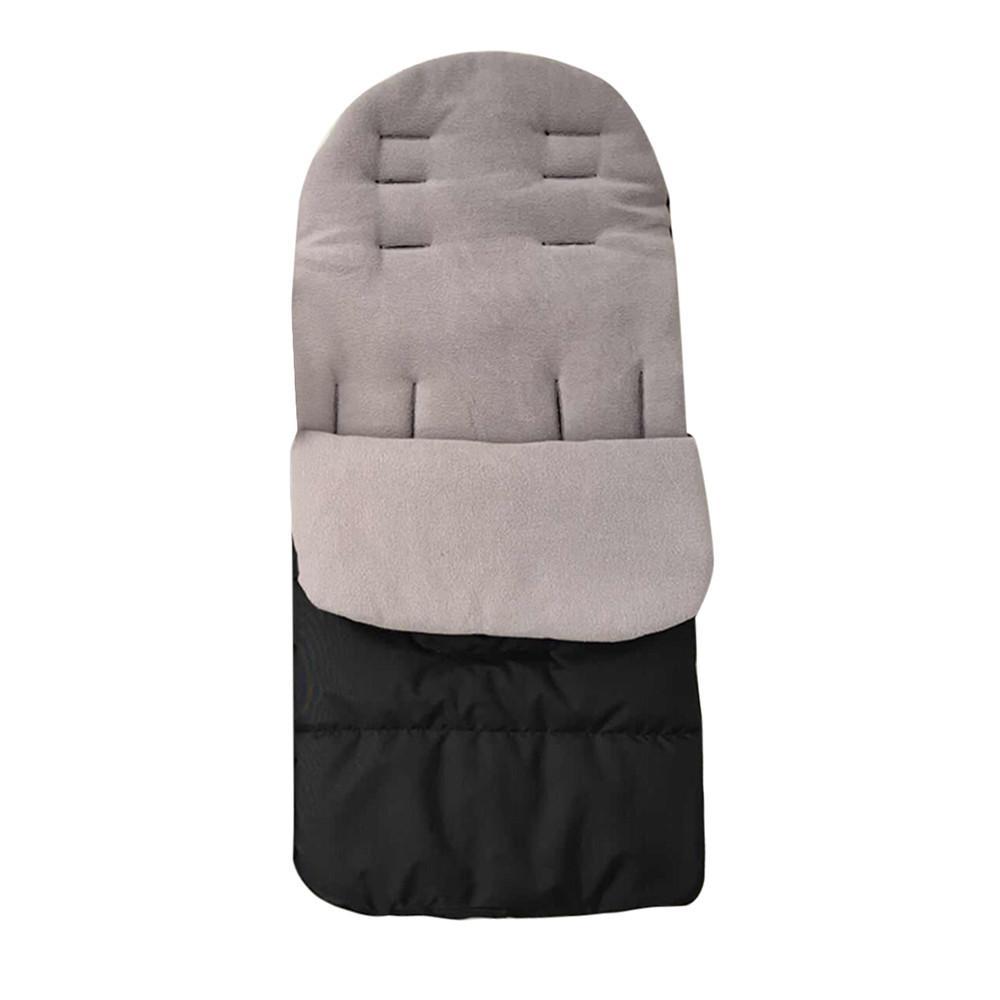 Детские Малыш Новый универсальный Footmuff Уютные Toes Фартук Liner Buggy Коляска прогулочная коляска Sleep Bag Footmuff For Baby Winter Warm 0-3T 2019