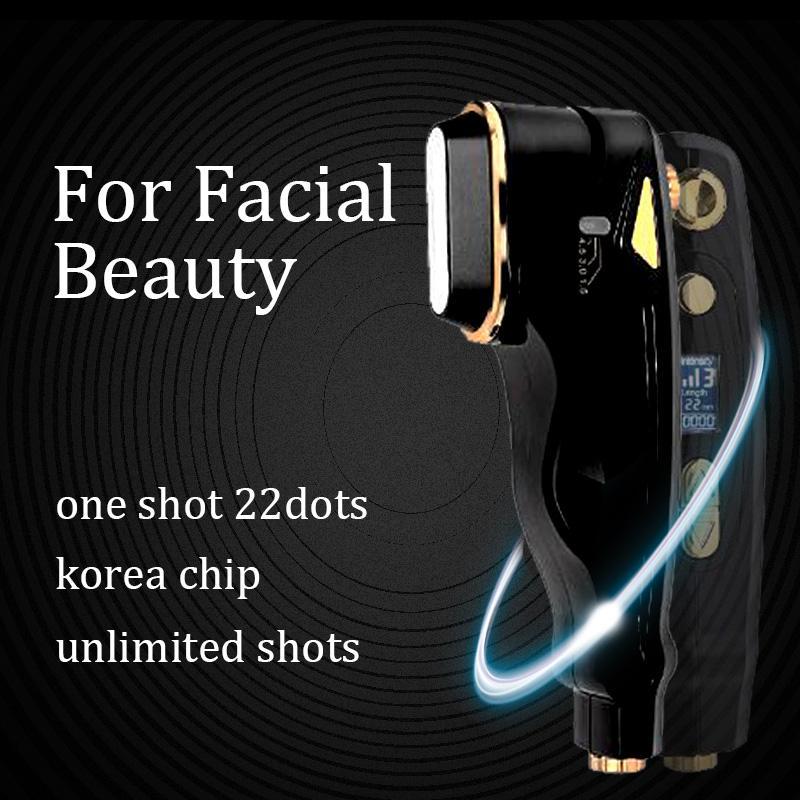 2020 il nuovo disegno Hifu macchina Hifu Face Lift portatile Hifu macchina grinza macchina di cura della pelle rimozione viso
