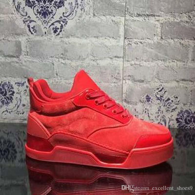 Basso di alta qualità superiore Aurelien scarpe da tennis piatto Donne, Uomini pattini inferiori rossi perfetta qualità casuale esterna Trainer regalo perfetto con la scatola bb3