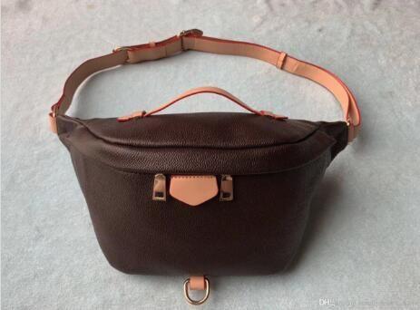 Designer Mais Novo Stlye Famoso Marca Bumbag Bumbag Saco De Ombro Do Corpo Autn Material Material Cintura Sacos M43644 Fanny Pack Bum