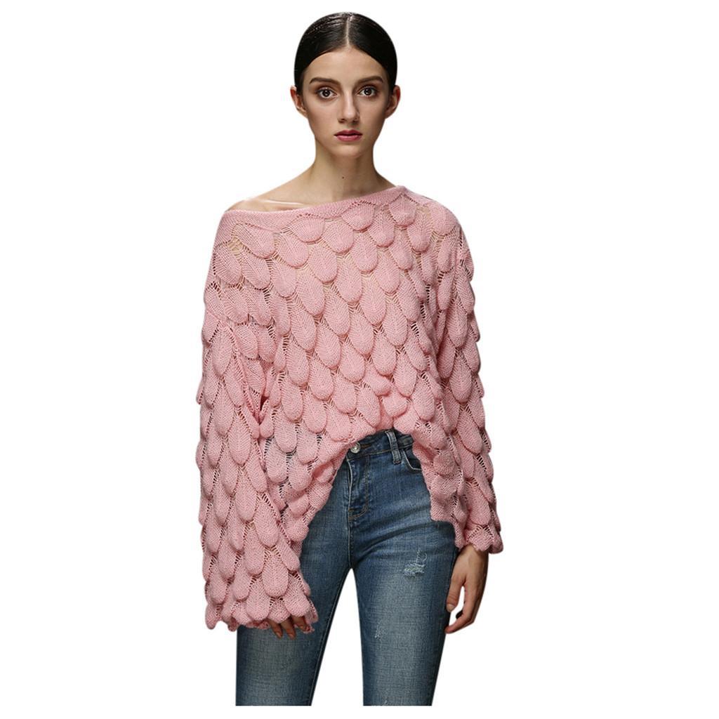 Женские свитера женские сексуальные с плеча женский пуловер свитер длинный тонированный рог рукав осень мода повседневная улица