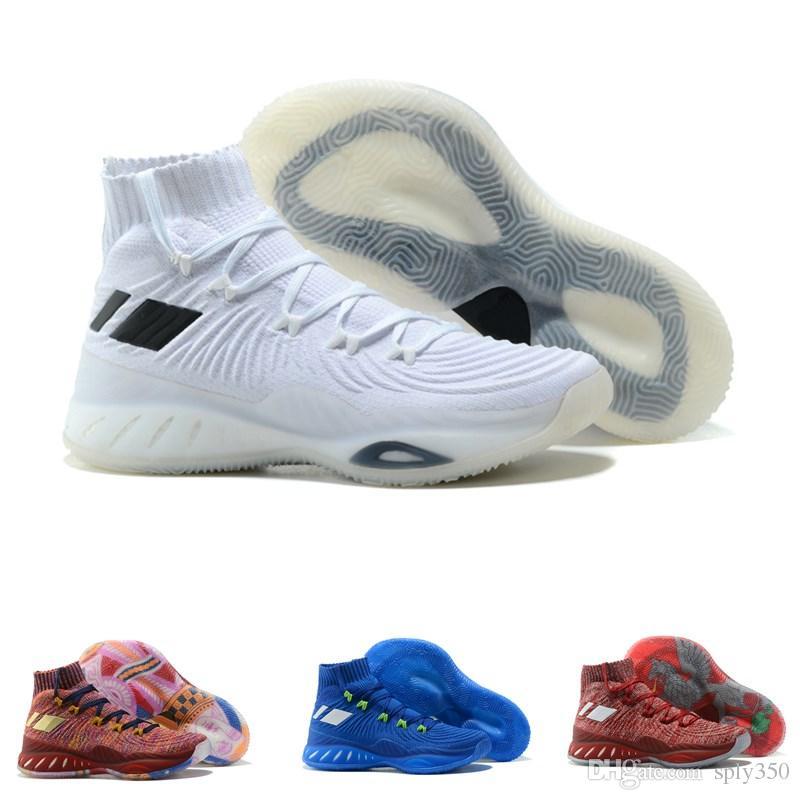 Acheter Andrew Wiggins Basketball Crazy Explosive 2019 Chaussures De Designer Pour Haute Qualité Hommes Femmes Chaussettes Entraînement Sportif De