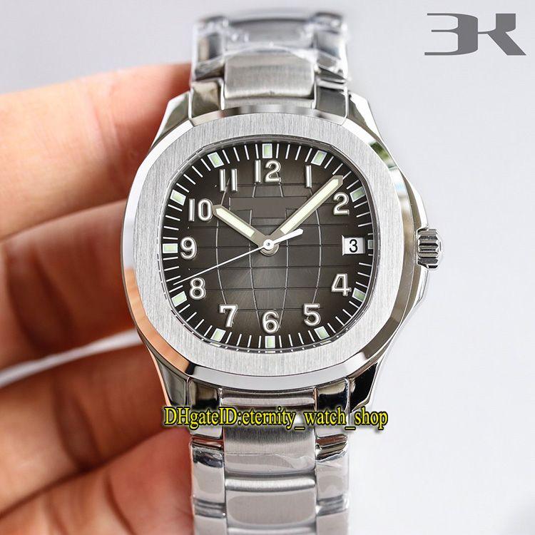3KF Versão mais forte 5167 / 1A-001 Dial gradiente Real Cal.324C Mecânica automática 5167 Mens Assista Sapphire Pulseira de Aço Eternidade Relógios