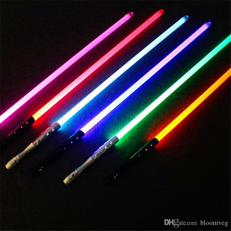 11Brand nouveau top 1pcs cosplay avec sabre laser jouet ton léger alliage d'épée skywalker épée 100cm jouet cadeau d'anniversaire de garçon cadeau de Noël préféré