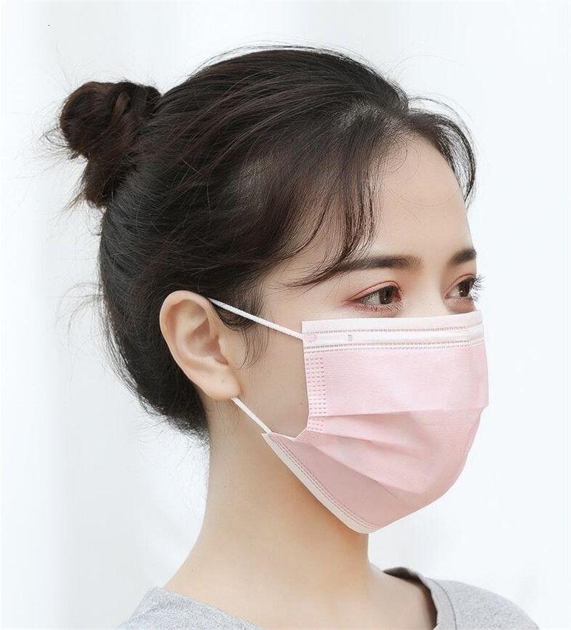 Consegna veloce fabbrica della Cina Maschera 20Pcs monouso elastico bocca morbida e traspirante maschera di protezione anti polveri respirabili antipolvere K