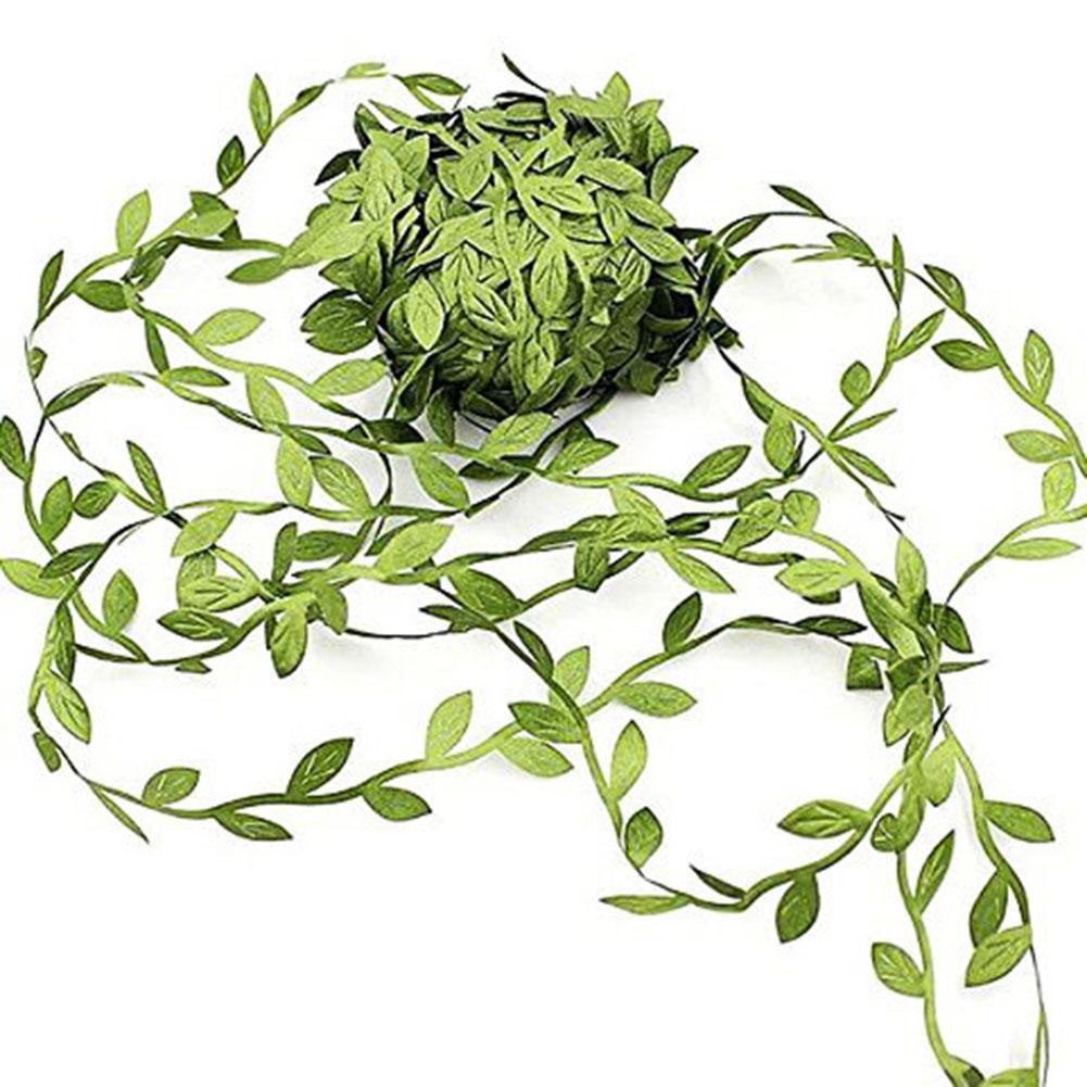 77 메터 인공 단풍 덩굴 공 부드러운 실크 가짜 덩굴 화환 매달려 창 파티 Ceilng Boho 풍선 장식 인공 식물