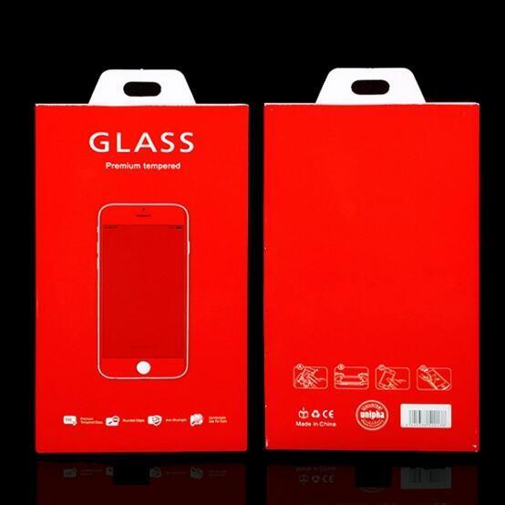Sponge Retail Pack Confezione per schermo in vetro temperato 9H Protector per iPhone XR XS Max X 8 7 Plus Samsung S10 Plus