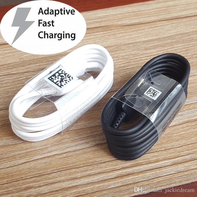 Para Samsung Galaxy S10 + S10E S10 S9 S9 + S8 S8 + Nota 9/8 A9 A9S A7 a5 A3 Tipo C 3.1 USB-C Sync Cargador rápido Cable de carga Cables
