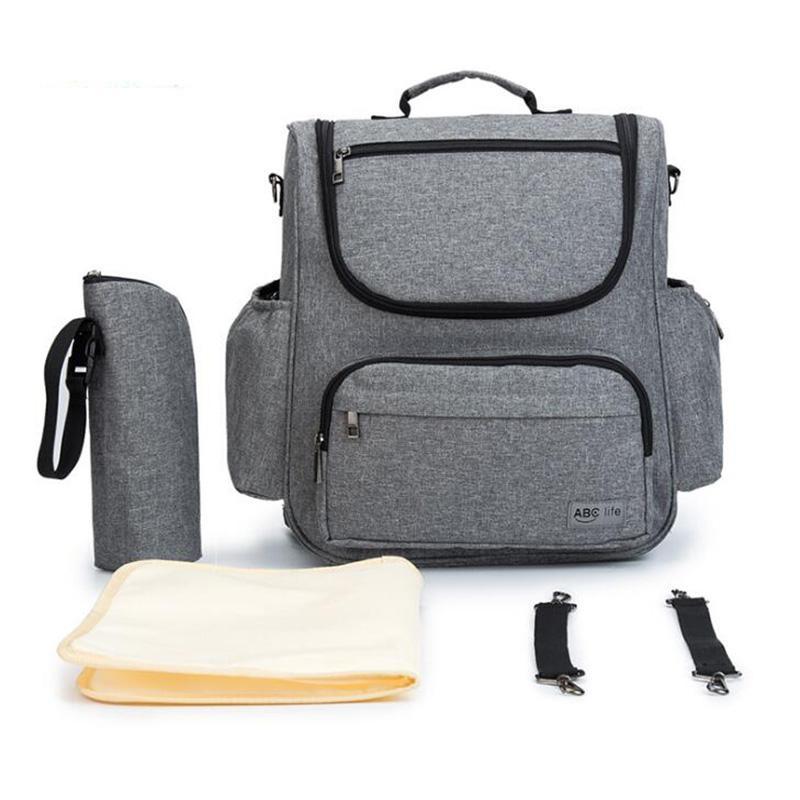 Детские сумки для мамы рюкзак подгузник пеленки сумки многофункциональный большой дорожная сумка детские кормящие водонепроницаемый коляска сумка BDL010