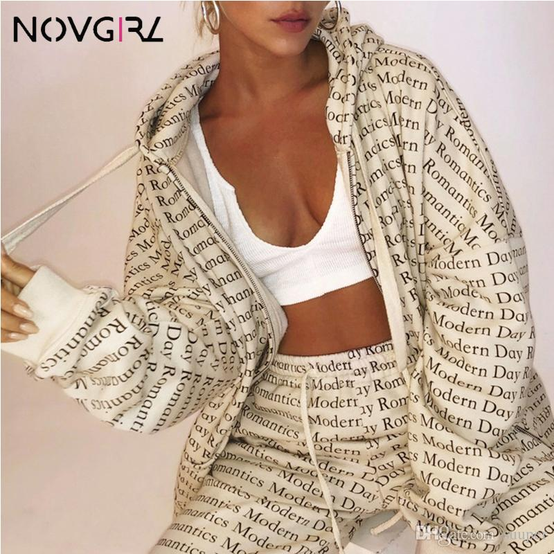 Fashion Modern Dady Letter Print Zipper Thicker Oversize Warm Hoodie Sweatshirts Women 2019 Korea Style Open Stitch Tops
